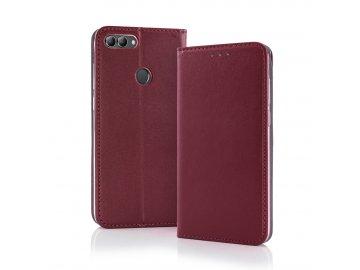 Smart Magnetic flip case (puzdro) pre Motorola Moto G8 - bordové