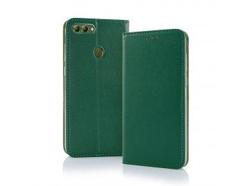 Smart Magnetic flip case (puzdro) pre Samsung Galaxy A40 - tmavozelené