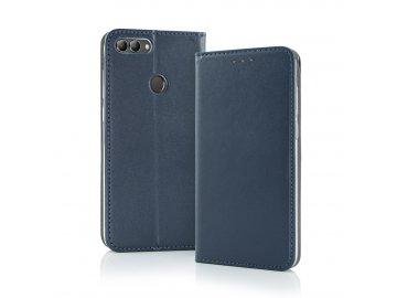 Smart Magnetic flip case (puzdro) pre Motorola Moto E6 Plus - modré