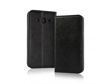 Smart Magnetic flip case (puzdro) pre iPhone 5/5S/SE- čierne