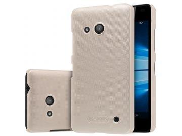 Plastový Nillkin kryt (obal) pre Nokia Lumia 550 - zlatý (gold)