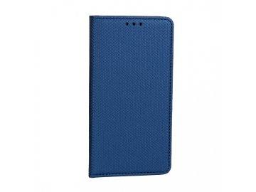 Telone flip Case (puzdro) pre LG G8 ThinQ - modré - s magnetickým dovieraním