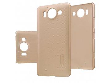 Plastový Nillkin kryt (obal) pre Nokia Lumia 950 - zlatý (gold)
