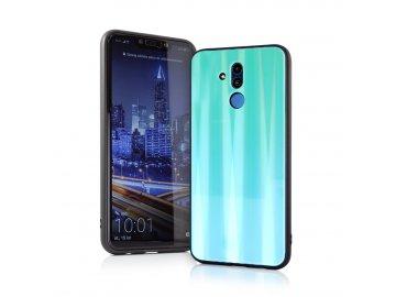 Aurora Glass zadný kryt (obal) pre Huawei P Smart 2019/Honor 10 Lite - zelený 3