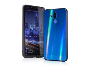 Aurora Glass zadný kryt (obal) pre Huawei P Smart 2019/Honor 10 Lite - tmavomodrý