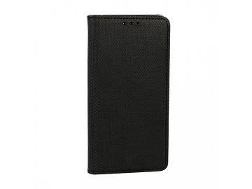 Telone flip Case (puzdro) pre Motorola Moto Edge Plus - čierne - s magnetickým dovieraním