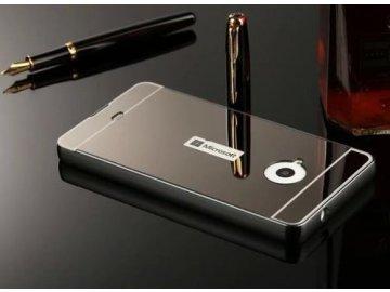 Hliníkový kryt (obal) pre Nokia Lumia 650 - čierny (black)