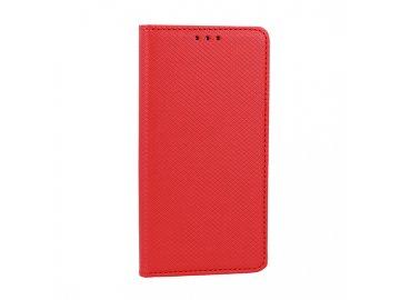 Telone flip Case (puzdro) pre LG G8S ThinQ - červené - s magnetickým dovieraním