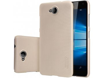 Plastový Nillkin kryt (obal) pre Nokia Lumia 650 - zlatý (gold)