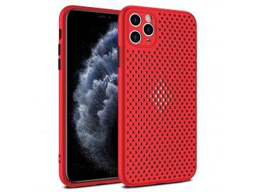 Breath Case silikónový kryt (obal) pre Samsung Galaxy A21s - červený