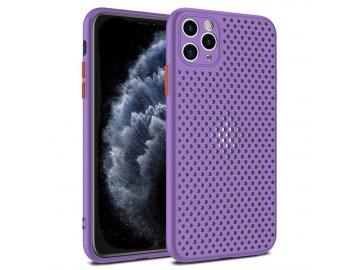Breath Case silikónový kryt (obal) pre Samsung Galaxy A41 - fialový