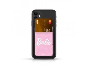 Barbie Pocket Sticker nalepovací držiak na kartu - ružový