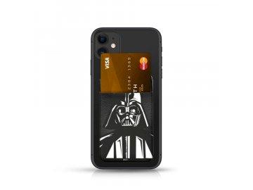 Star Wars Darth Vader Pocket Sticker nalepovací držiak na kartu - čierny