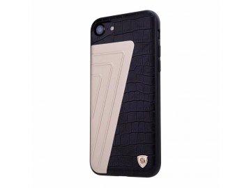 Nillkin kožený kryt (obal) pre iPhone 7 / 8 - čierny