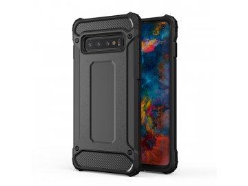 Plastový kryt (obal) Armor Carbon pre Huawei P40 Lite E - čierny