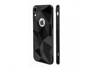 Prism Diamond Matt silikónový kryt (obal) pre Huawei P30 - čierny