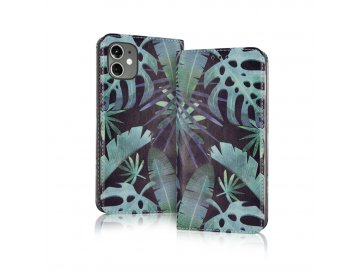 Smart Trendy flip case (puzdro) pre Samsung Galaxy A20e - monstera