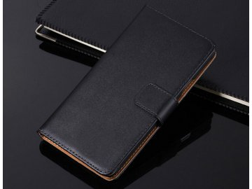 Flip Case (puzdro) pre Huawei Honor 8 - black (čierne)