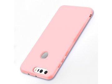 Silikónový kryt (obal) pre Huawei Honor 8 - pink (ružový)
