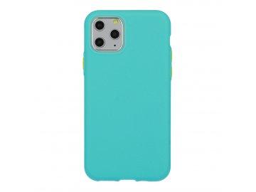 Solid Case silikónový kryt (obal) pre Samsung Galaxy S20+ (Plus) - tyrkysový