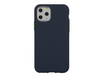 Solid Case silikónový kryt (obal) pre Motorola Moto G8 Power Lite - modrý