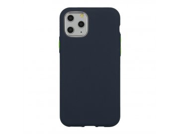 Solid Case silikónový kryt (obal) pre Huawei Y5p - modrý