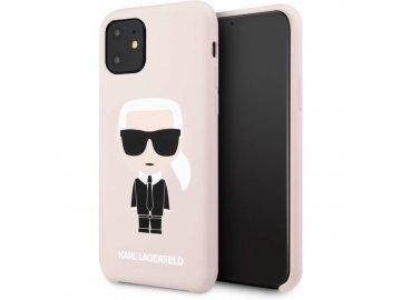 Karl Lagerfeld Iconic Hard Case kryt (obal) pre Samsung Galaxy S20+ (Plus) - ružový