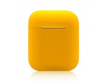 XO silikónové puzdro pre Apple Airpods - žlté