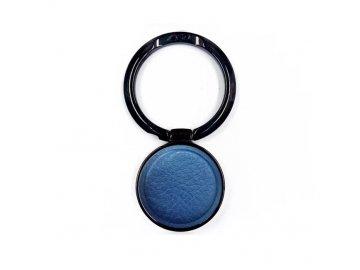 LGD Leather kovový držiak na mobil - prsteň - modrý
