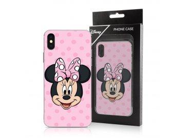 Disney Minnie zadný kryt (obal) pre Huawei P Smart 2019/Honor 10 Lite - s ružovou mašľou