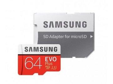 Pamäťová karta Samsung Micro SDXC EVO Plus UHS-I 64GB