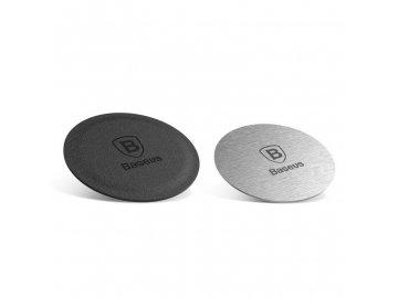 Baseus Magnet Iron Suit 2x kovový lepiaci štítok k magnetickým držiakom do auta