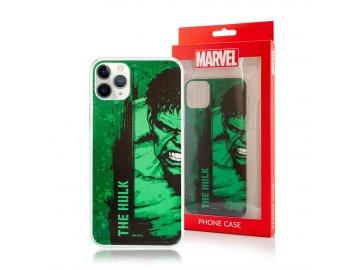 MARVEL Hulk silikónový kryt (obal) pre Huawei Nova 5T - zelený
