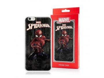 MARVEL Spider-Man silikónový kryt (obal) pre Huawei Nova 5T - čierny
