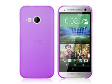 Plastový kryt (obal) pre HTC One mini 2 (M8) - fialový (violet)