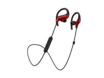 AIRAUX AA-NH1 bezdrôtové slúchadlá - červeno-čierne