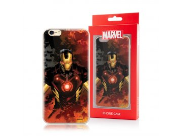 MARVEL Iron-Man silikónový kryt (obal) pre Huawei P Smart 2019/Honor 10 Lite - čierny