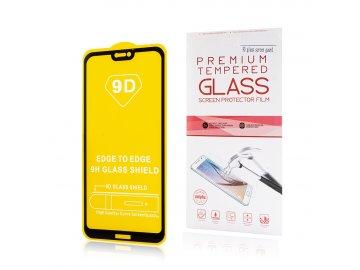 9D tvrdené sklo pre Samsung Galaxy A40 - čierne