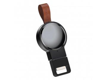Baseus Dotter bezdrôtová nabíjačka pre Apple Watch - čierna