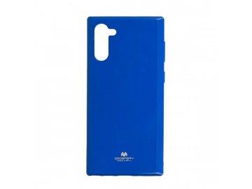 Mercury Goospery i-JELLY Pearl kryt (obal) pre Samsung Galaxy Note 10+ (Plus) - modrý