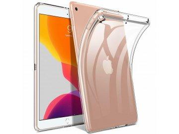 """Silikónový kryt (obal) pre Apple iPad 10,2"""" (2019) - priesvitný"""