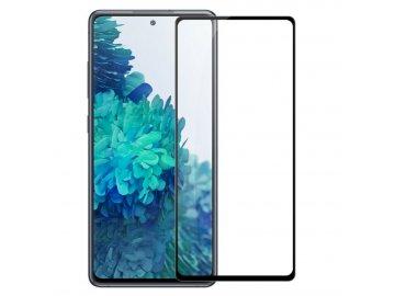 Premium Full Glue tvrdené sklo pre Samsung Galaxy S20+ (Plus) - čierne