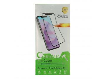 2,5D keramické sklo pre Huawei P40 Lite E - čierne