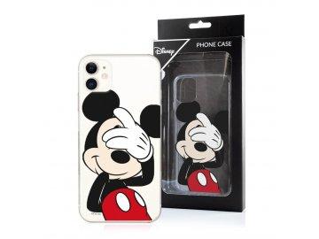 Disney Mickey zadný kryt (obal) pre Samsung Galaxy S10 - priesvitný