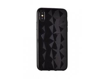 Prism Diamond 3D silikónový kryt (obal) pre Samsung Galaxy S10 - čierny