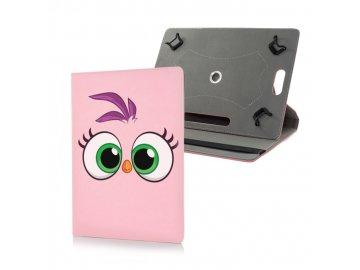 """Angry Birds univerzálny obal na tablet 7""""- 8"""" ružový"""