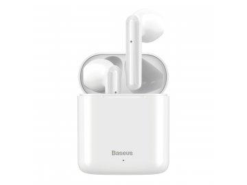Baseus Encok W09 bezdrôtové slúchadlá - biele