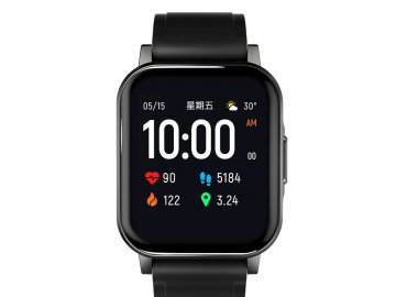Xiaomi Haylou LS02 Smartwatch - čierne