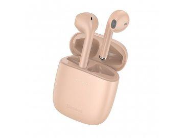 eng pl Baseus Encok True Wireless Earphones W04 Pro Pink 17375 3