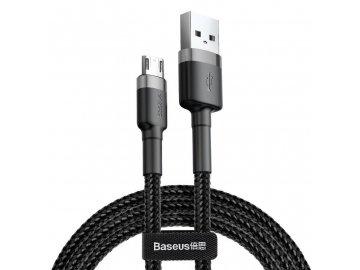 Baseus Cafule micro USB kábel 1m - čierny
